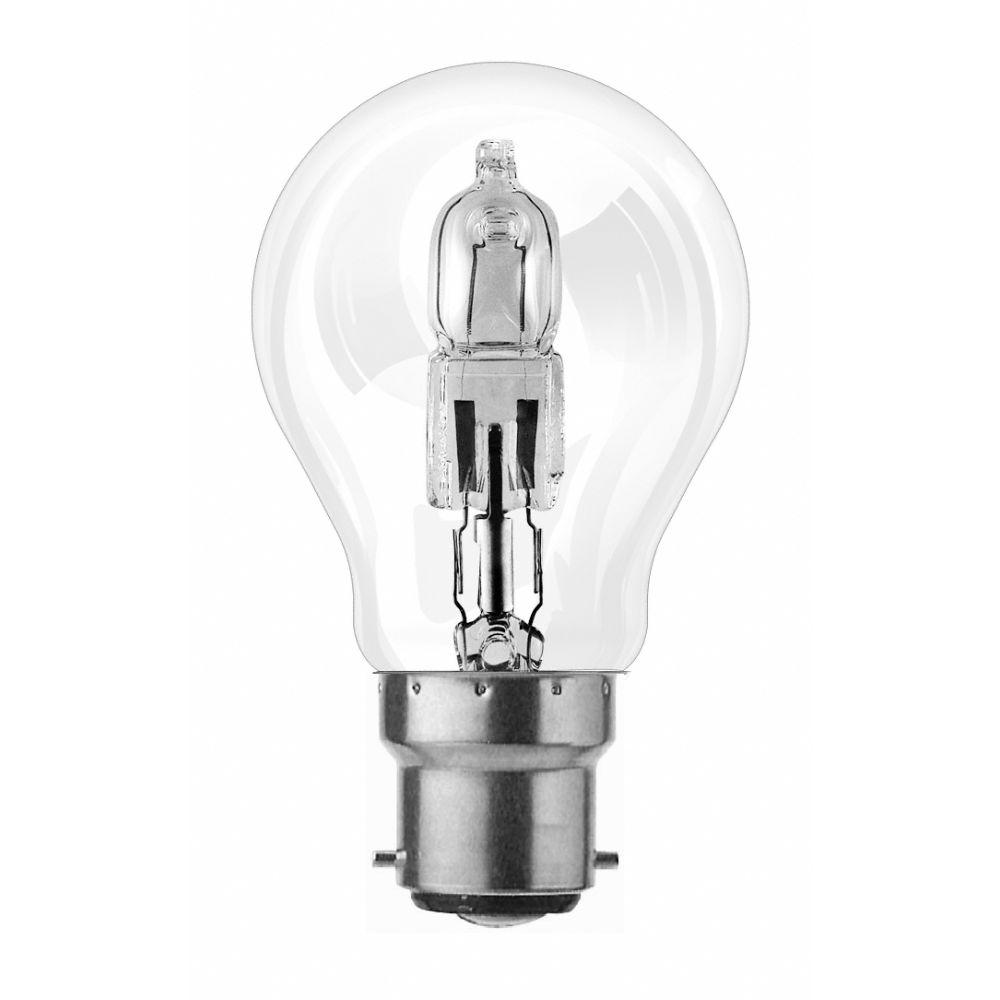 ampoule halog ne standard co 77w 2000 heures culot b22 x 2 la belle vie grande picerie. Black Bedroom Furniture Sets. Home Design Ideas
