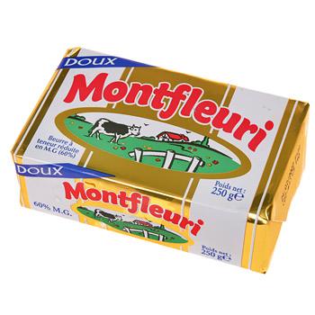 Beurre doux, Montfleuri (250 g)