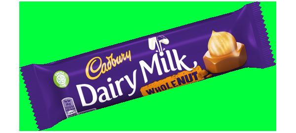 Dairy Milk aux noisettes, Cadbury (45 g)