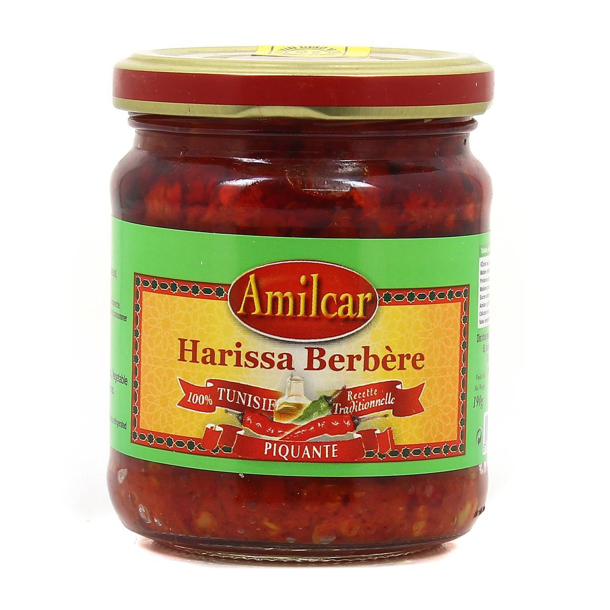 Harissa berbère, Amilcar (190 g)