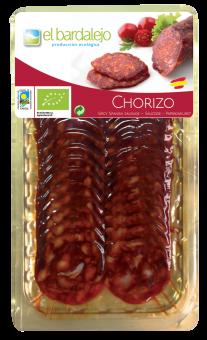 Chorizo tranché BIO, El Bardalejo (80 g)