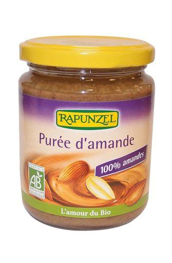 Purée d'amandes complètes BIO, Rapunzel (250 g)