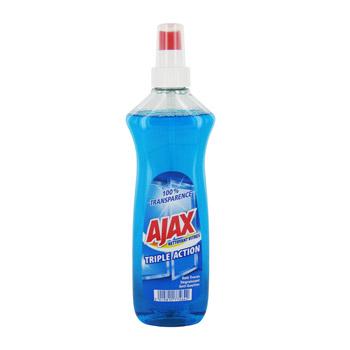 Nettoyant pour vitres triple action en vaporisateur, Ajax (500 ml)