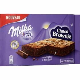 Gateau choco brownie à partager, Milka (200 g)