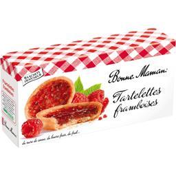 Tartelettes aux framboises, Bonne Maman (135 g)