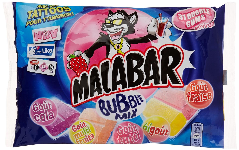 Chewing-gum Buble Mix, Malabar (214 g)