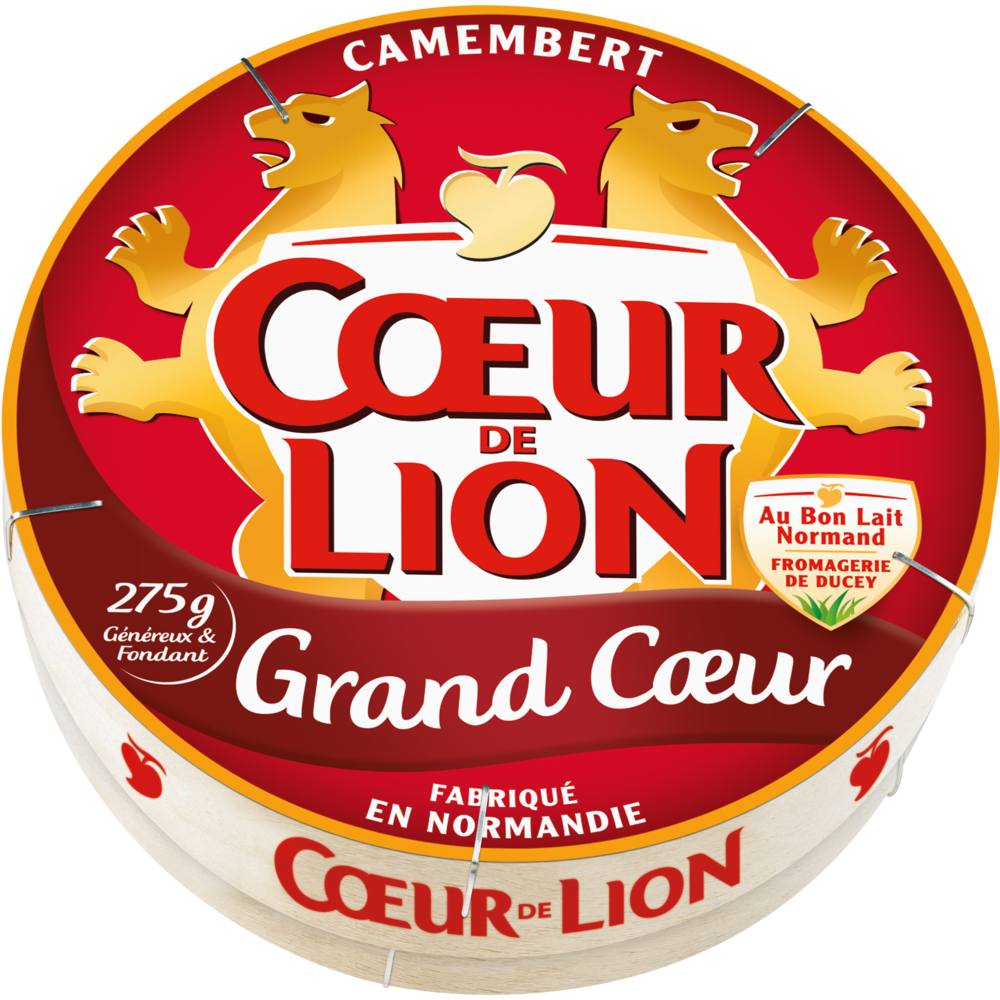 Camembert Grand Coeur, Coeur de Lion (275 g)