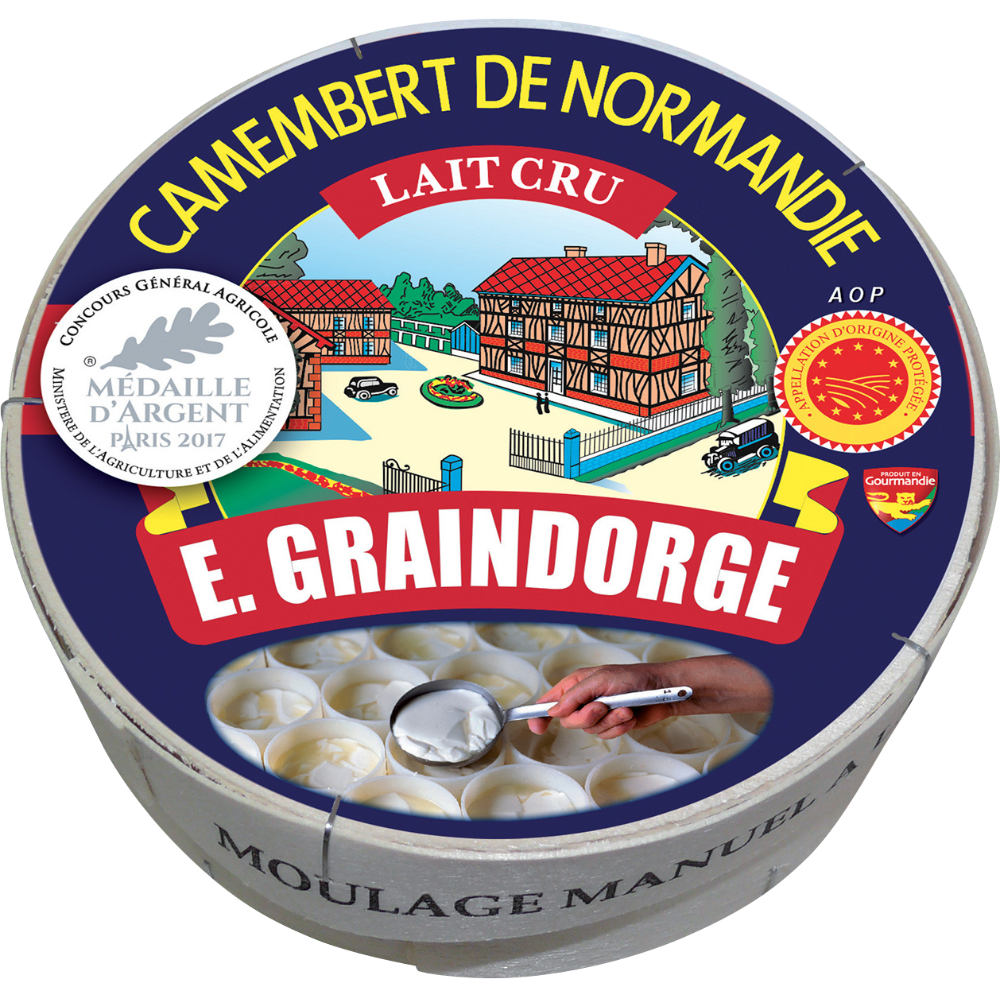 Camembert de Normandie au lait cru AOP, Graindorge (250 g)