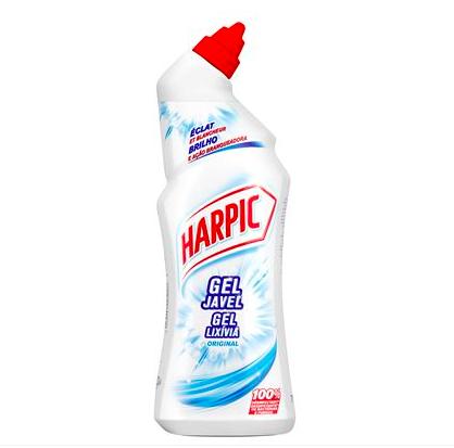 Gel Javel Eclat & Blancheur, Harpic (750 ml)
