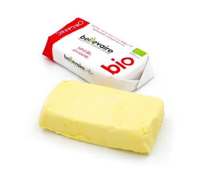 Beurre artisanal demi-sel BIO, Beillevaire (125 g)