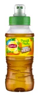 Ice tea pêche, Lipton (20 cl)