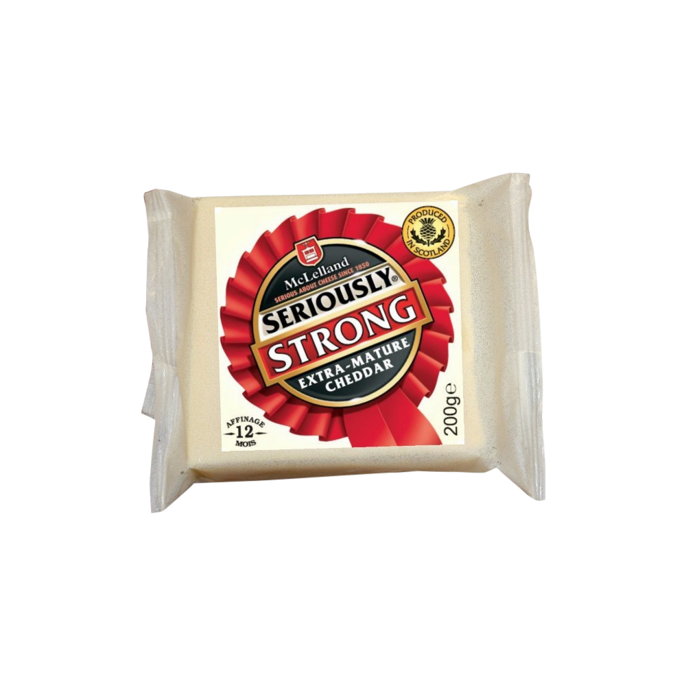 Cheddar, Seriously Strong (200 g)