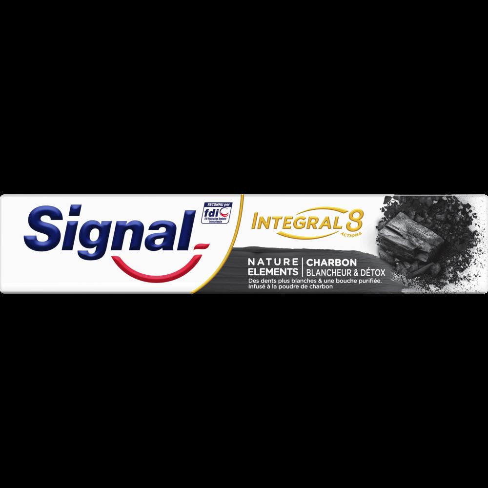 Dentifrice Intégral 8 Charbon, Signal (75 ml)