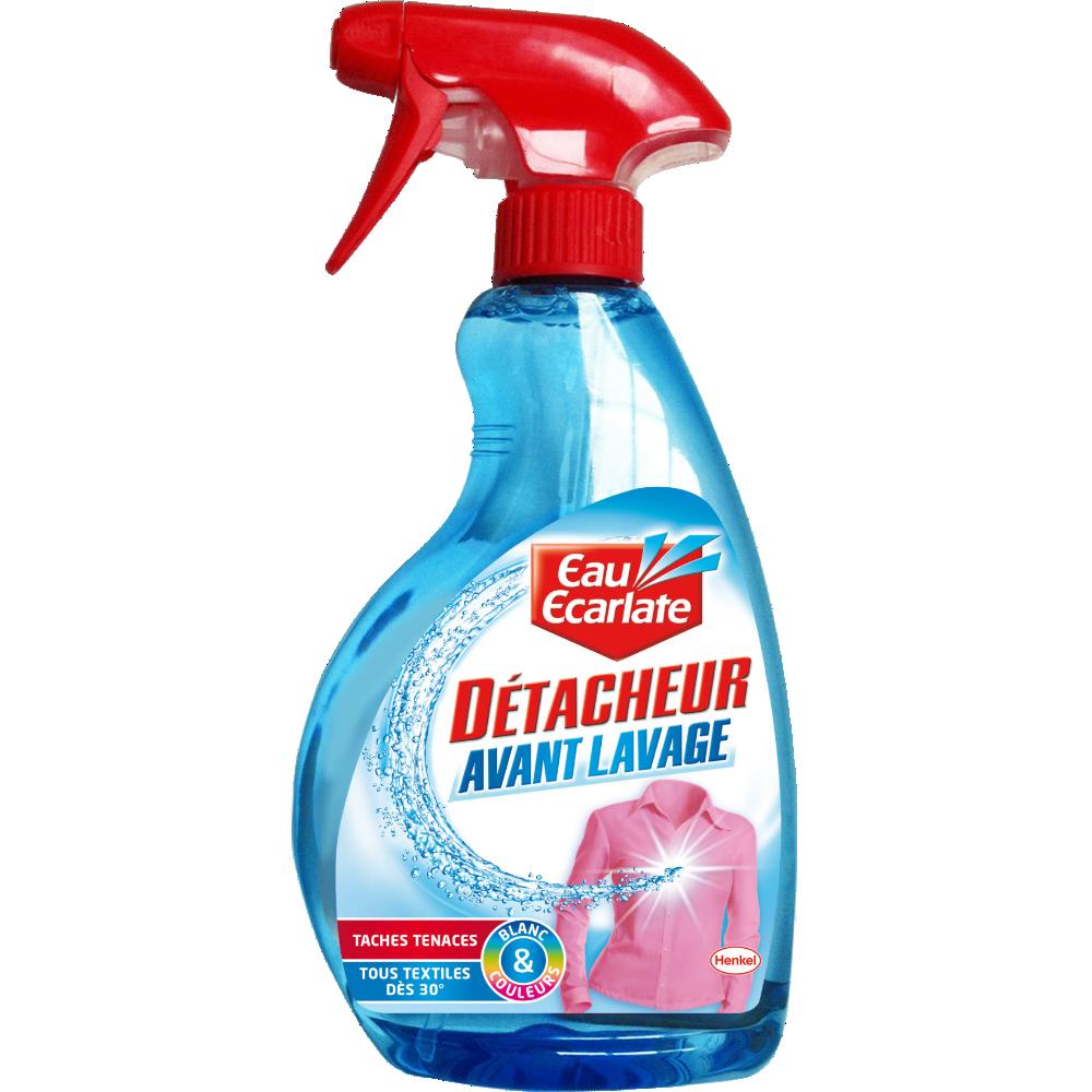 Détachant avant lavage tous textiles, Eau Ecarlate (500 ml)