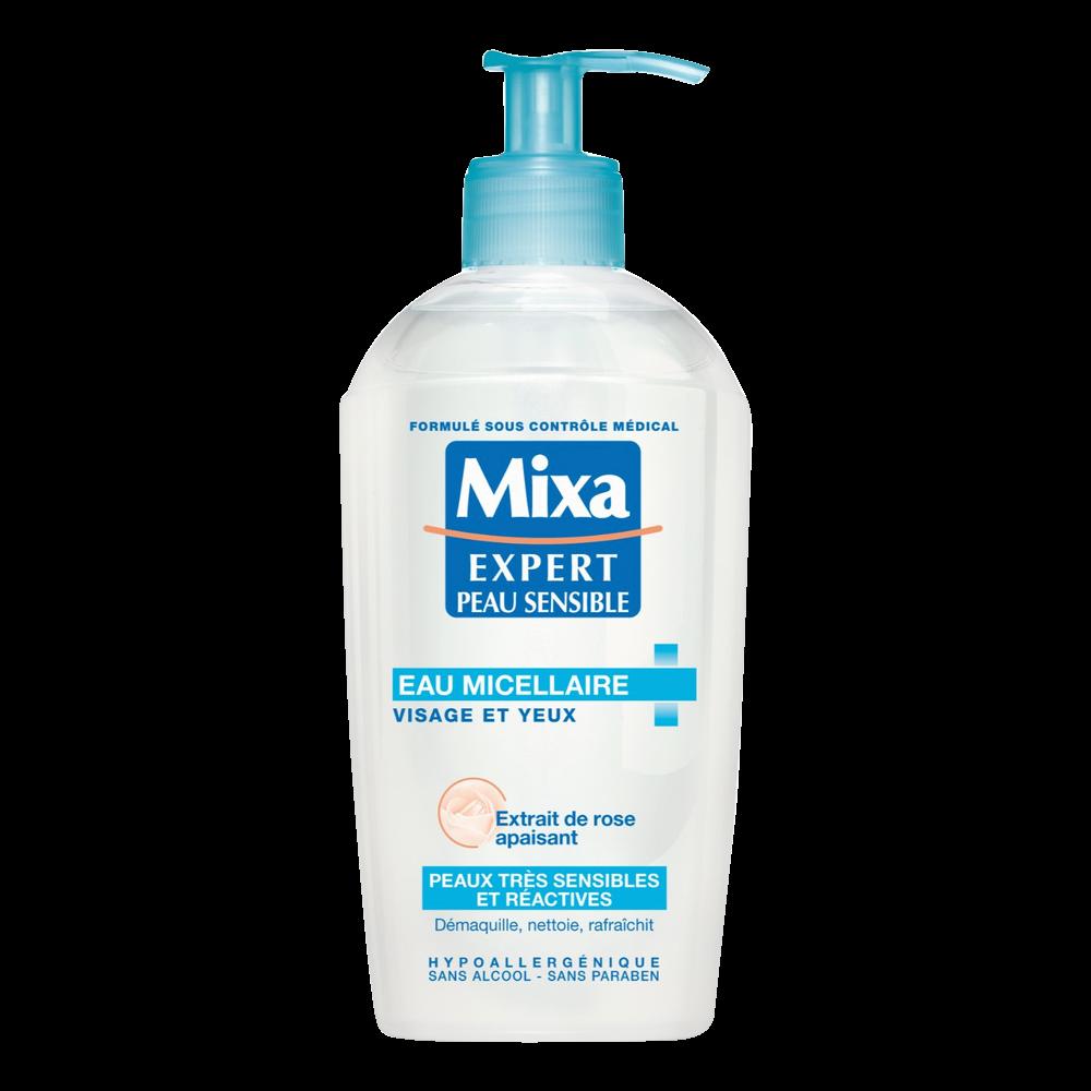 Eau nettoyante apaisante, Mixa (200 ml)