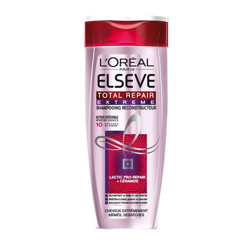 Shampooing Total Repair Extreme, Elsève (250 ml)