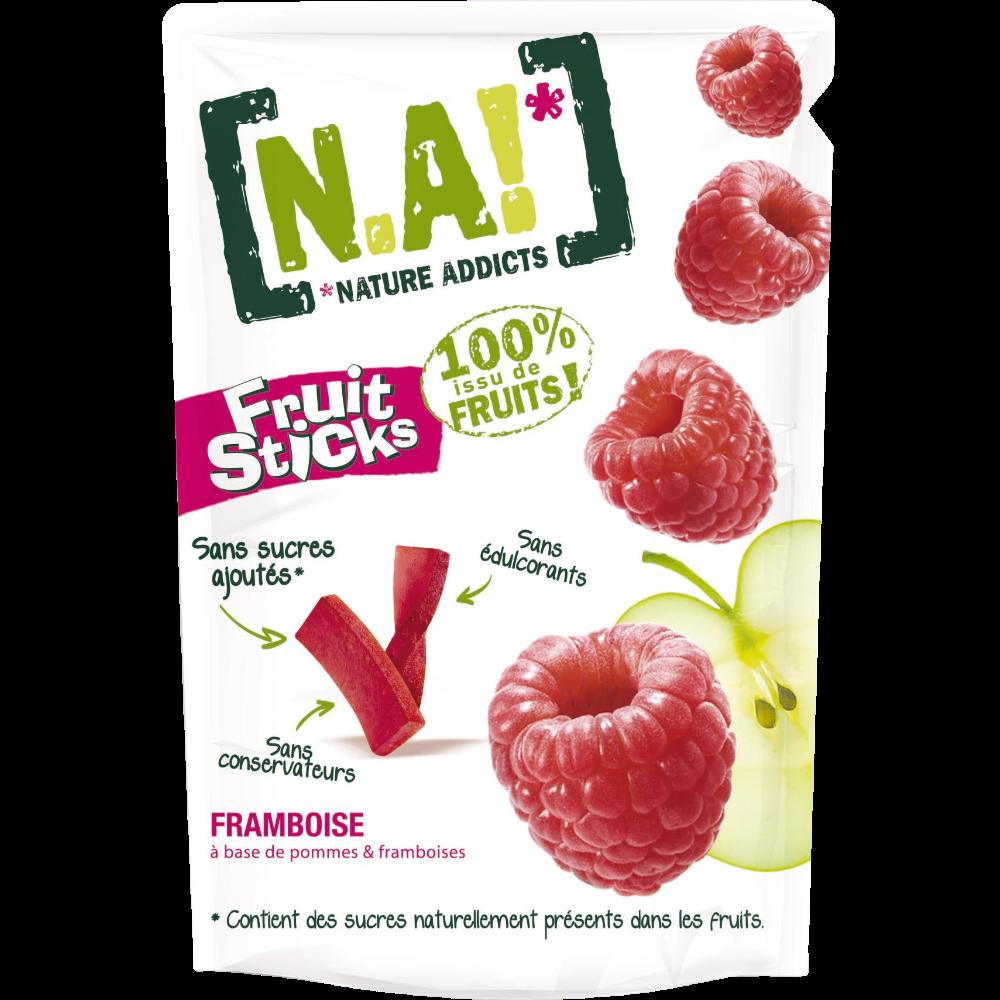 Fruit Sticks framboise, N.A! (40 g)