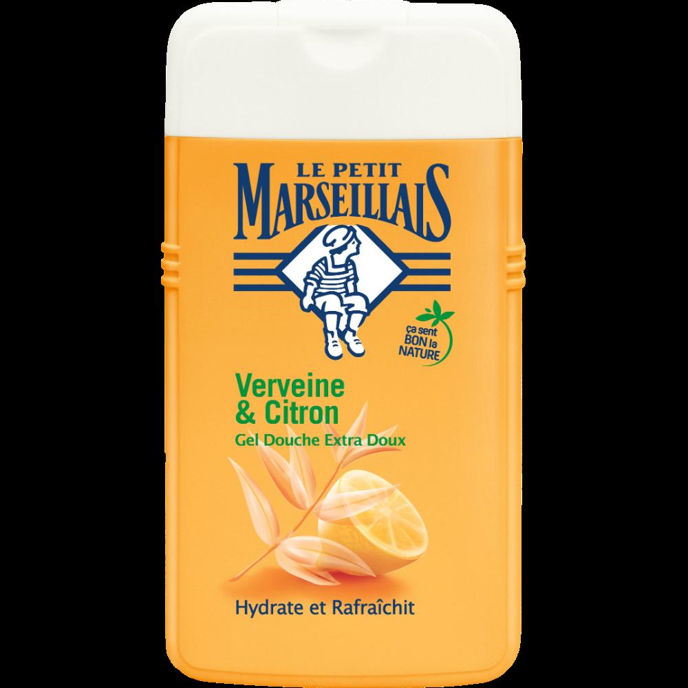 Gel douche extra doux verveine et citron, Le Petit Marseillais (250 ml)