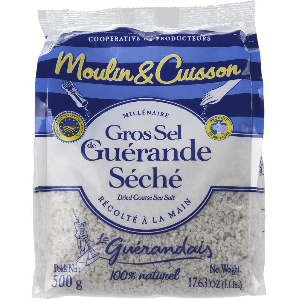 Gros sel de Guérande spécial moulin, Le Guérandais (500 g)