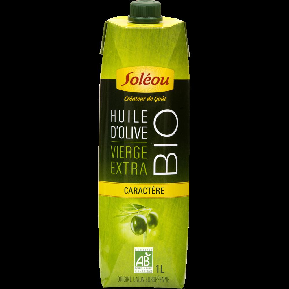 Huile olive extra vierge BIO, Soleou (1 L)