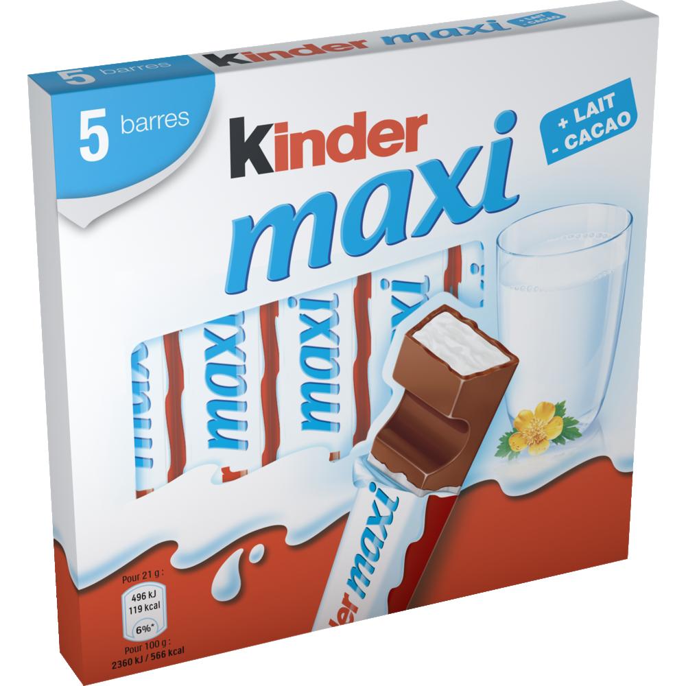 Kinder Maxi (5 barres, 105 g)