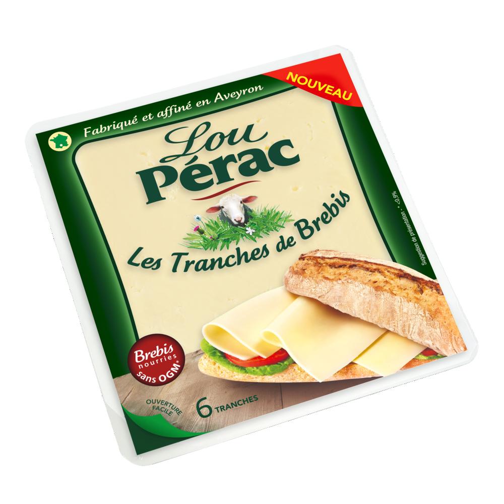 Les tranches de brebis, Lou Pérac (120 g)