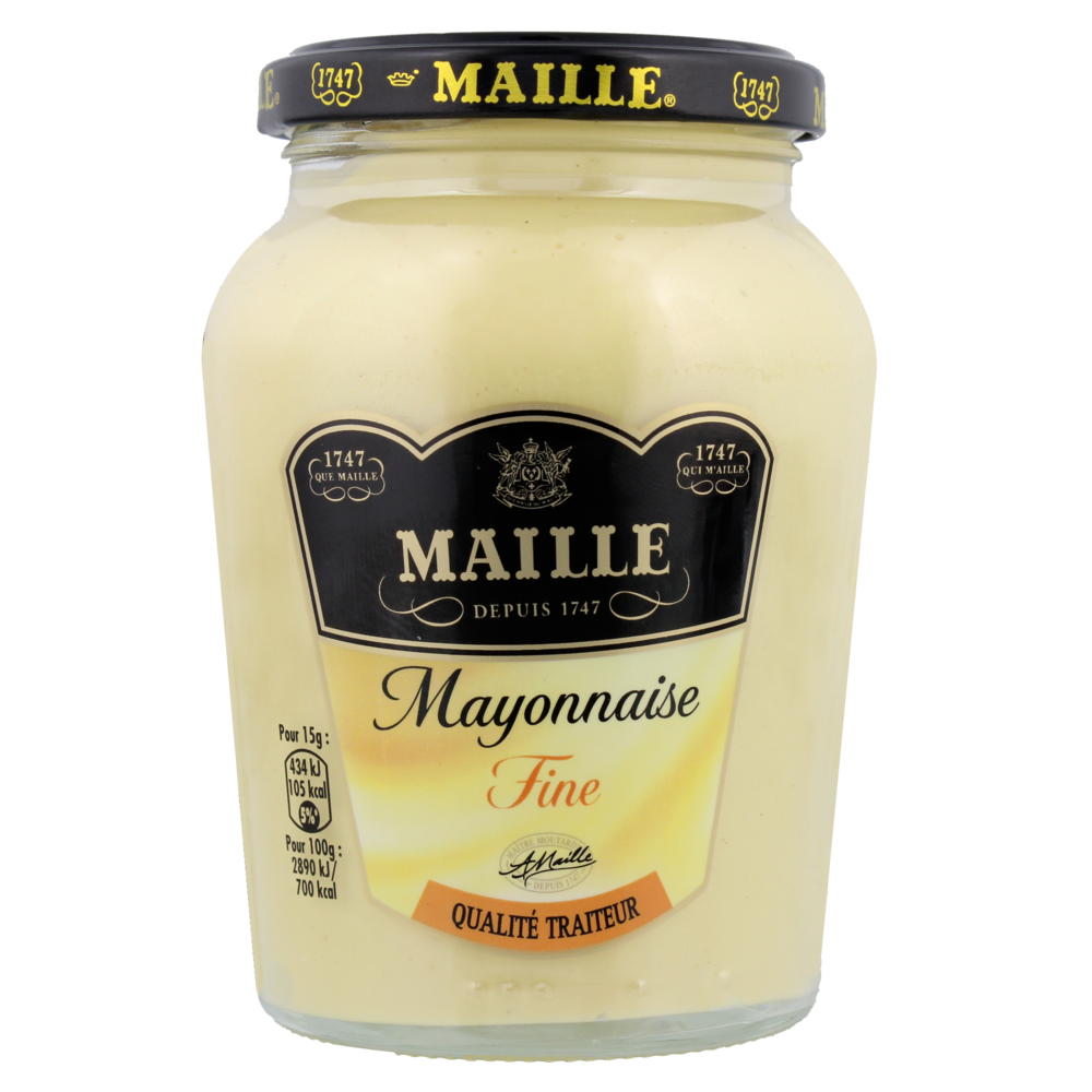 Mayonnaise fine qualité traiteur, Maille (320 g)