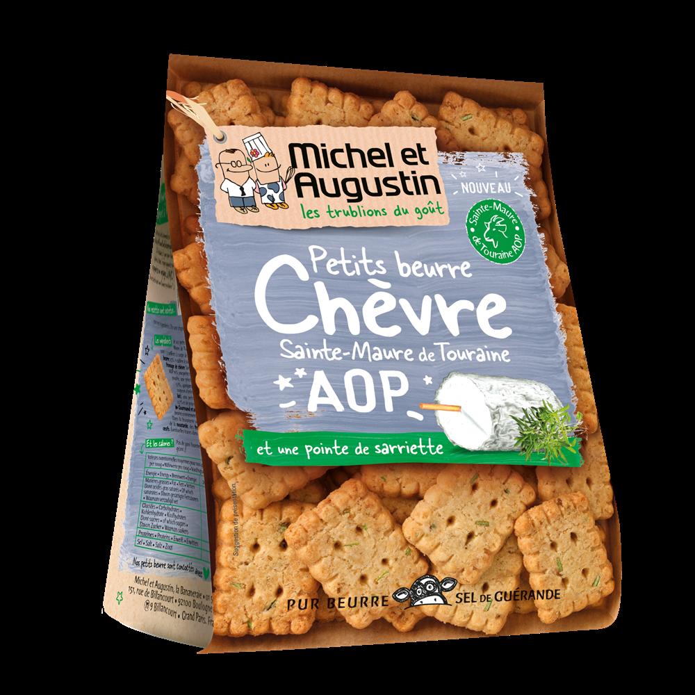 Petit Beurre au chèvre de Touraine, Michel et Augustin (100 g)