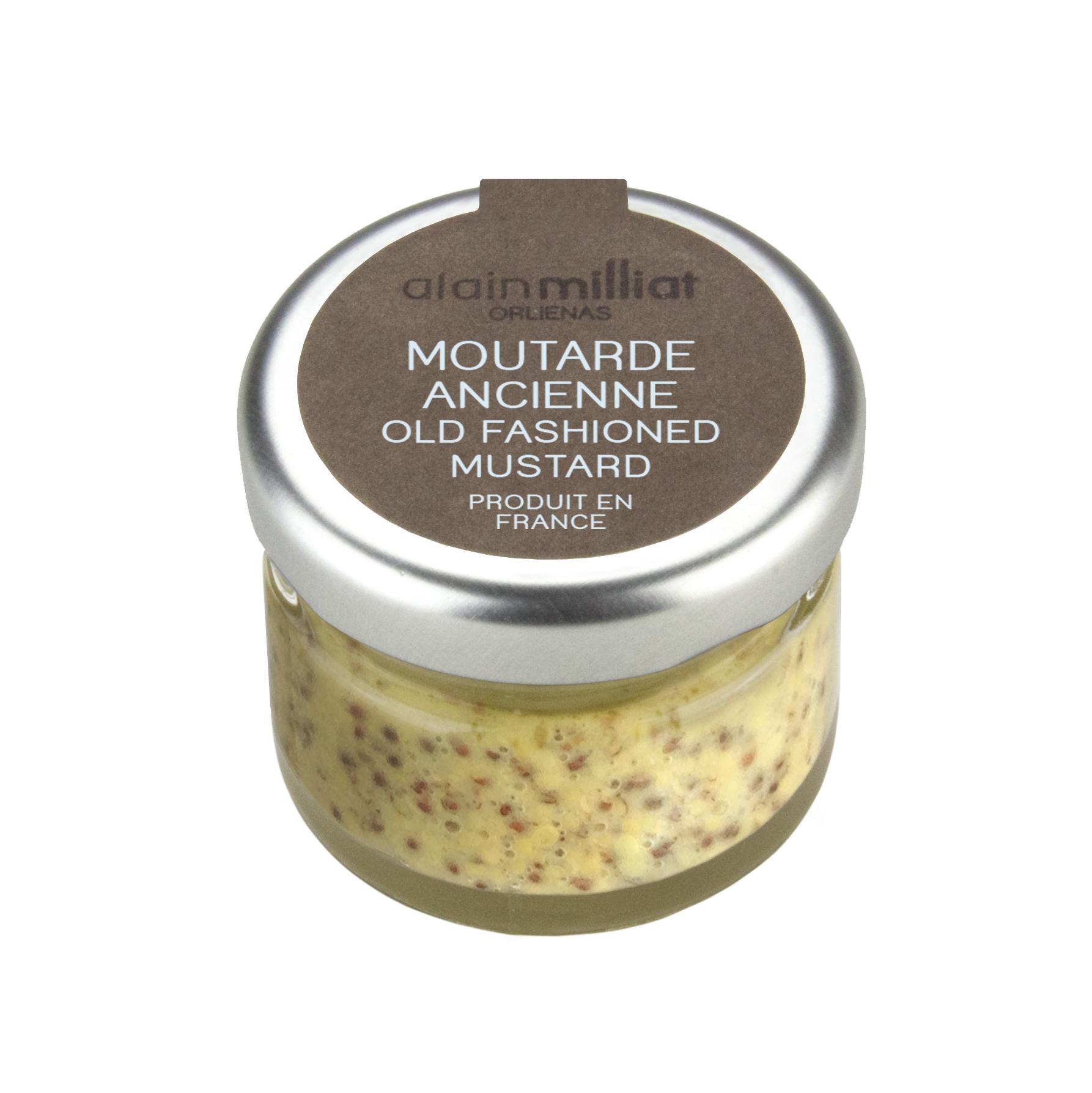 Moutarde à l'ancienne, Alain Milliat (30 g)
