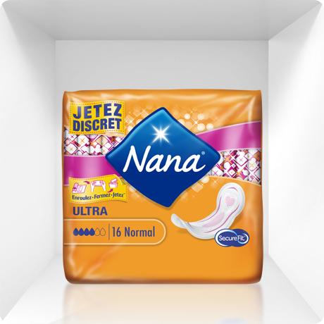 Serviettes Ultra Normales, Nana (x 16)