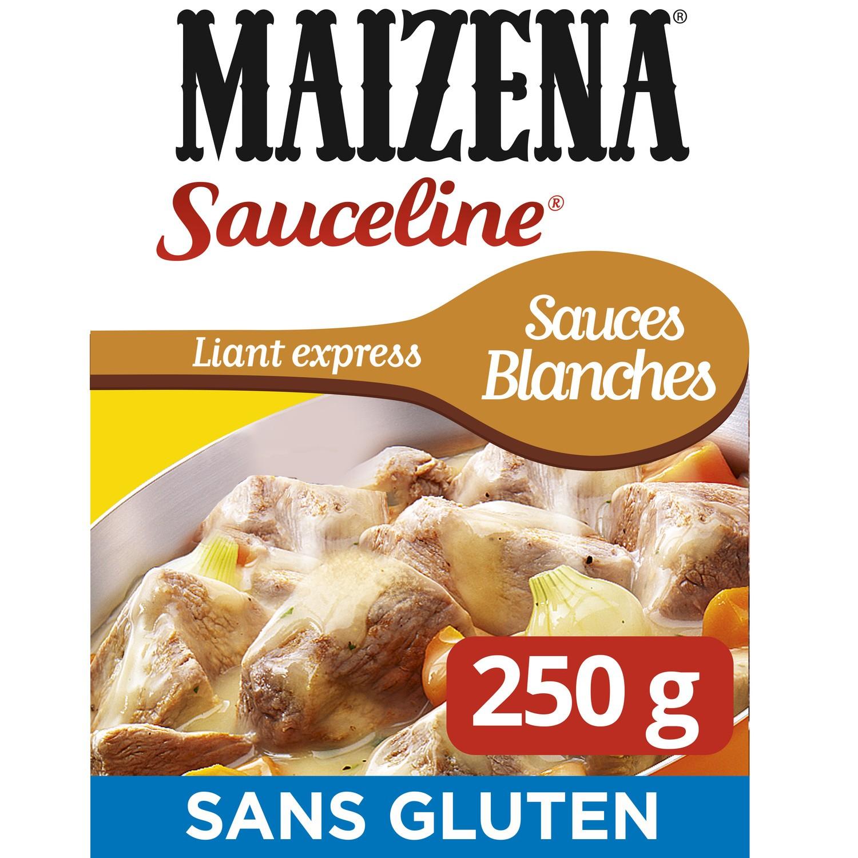 Préparation culinaire Sauceline pour sauce blanches sans gluten, Maizena (250 g)
