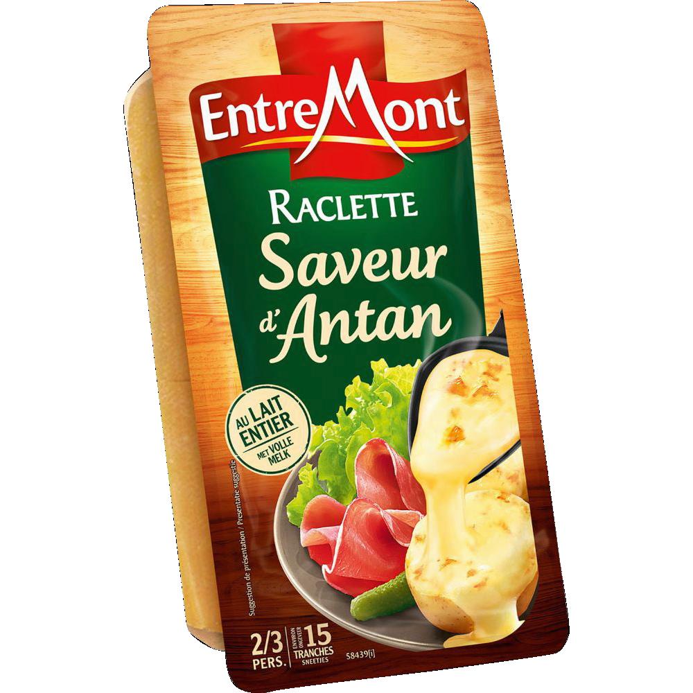 Raclette tranchée Saveur d'Antan, Entremont (15 tranches, 350 g)