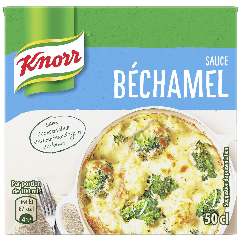 Sauce béchamel à la noix de muscade, Knorr (50 cl)