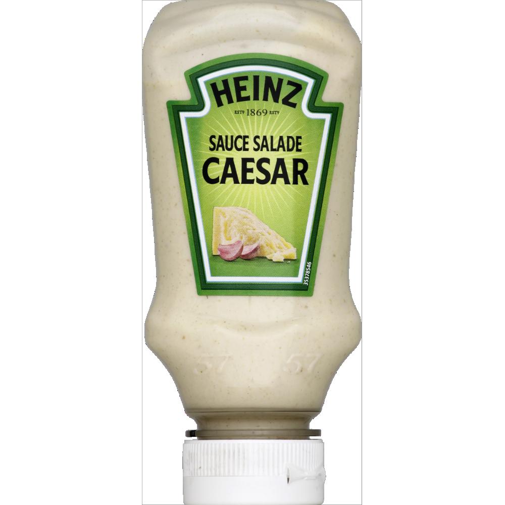 Sauce crudité salade caesar, Heinz (225 g)
