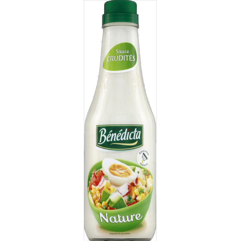 Sauce crudité nature, Bénédicta (735 g)