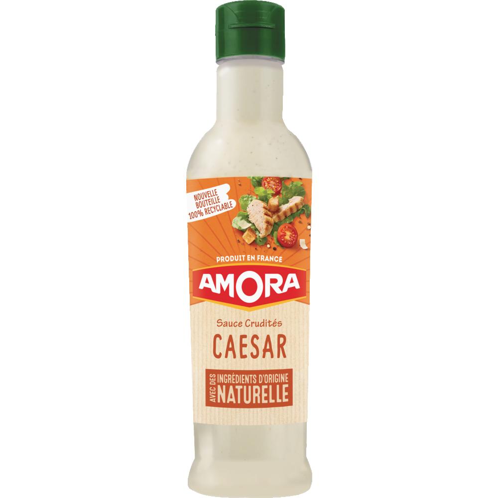 Sauce crudité salade caesar, Amora (380 ml)