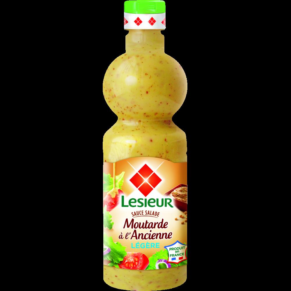 Sauce salade extra légère moutarde à l'ancienne, Lesieur (500 ml)