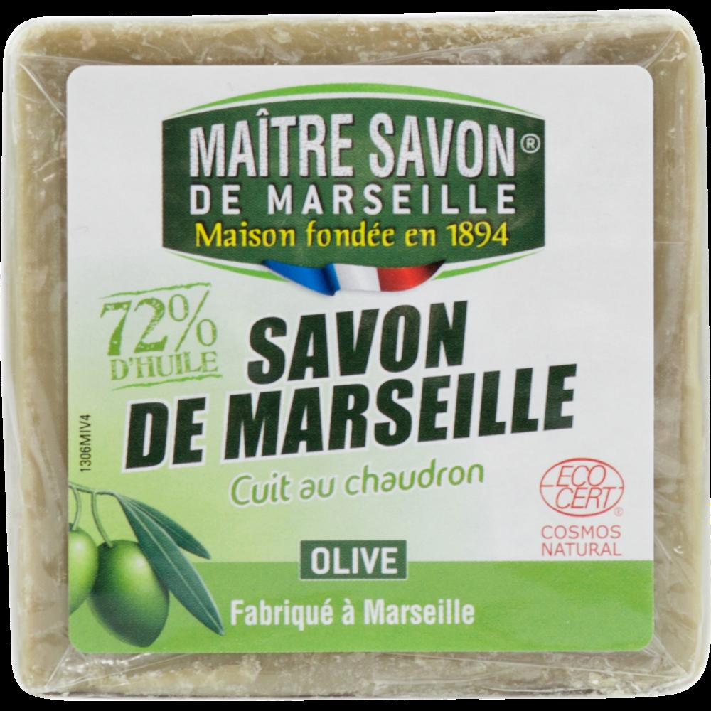 Savon de Marseille à l'huile d'olive cuit au chaudron, Maitre savon de Marseille (300 g)