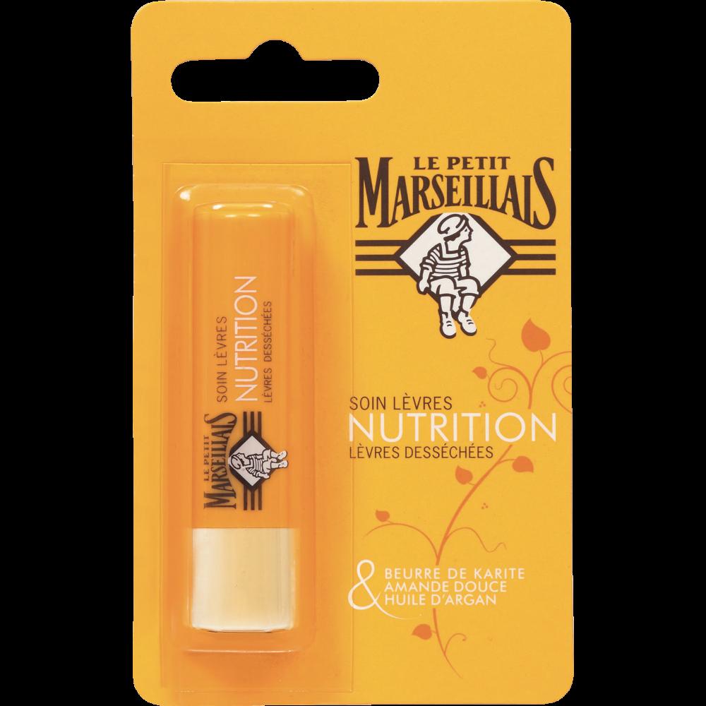 Stick à lèvres nourrissant Nutrition, Le Petit Marseillais