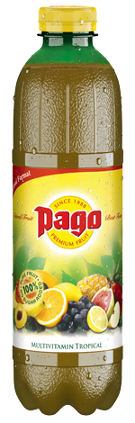 Jus cocktail tropical multivitaminé, Pago (75 cl)