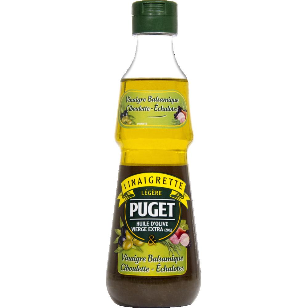 Vinaigrette légère à base de vinaigre balsamique ciboulette échalotes, Puget (330 ml)