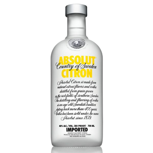 Vodka Absolut Citron (70 cl)