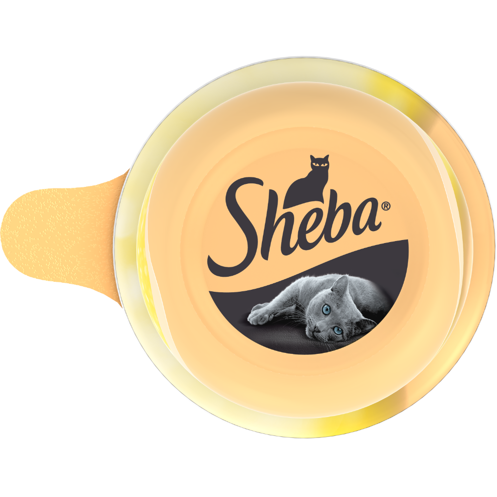 Dôme au blanc de poulet pour chat, Sheba (80 g)