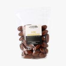 Amandes enrobées de chocolat au lait, La Grande Epicerie de Paris (150 g)