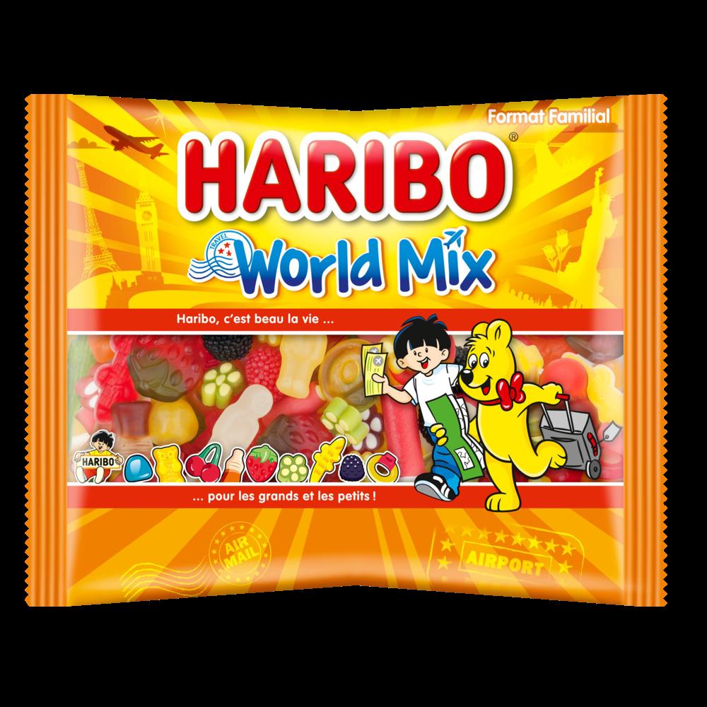 Assortiment de bonbons World Mix, Haribo (500 g)