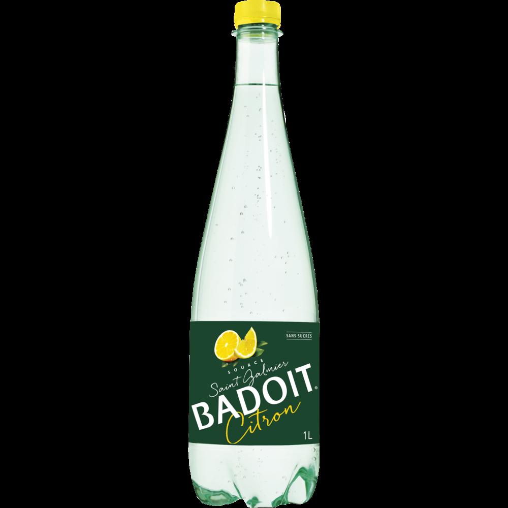 Badoit saveur citron sans sucre (1 L)
