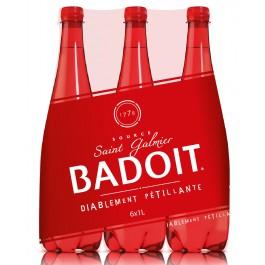 Pack de Badoit rouge (6 x 1 L)