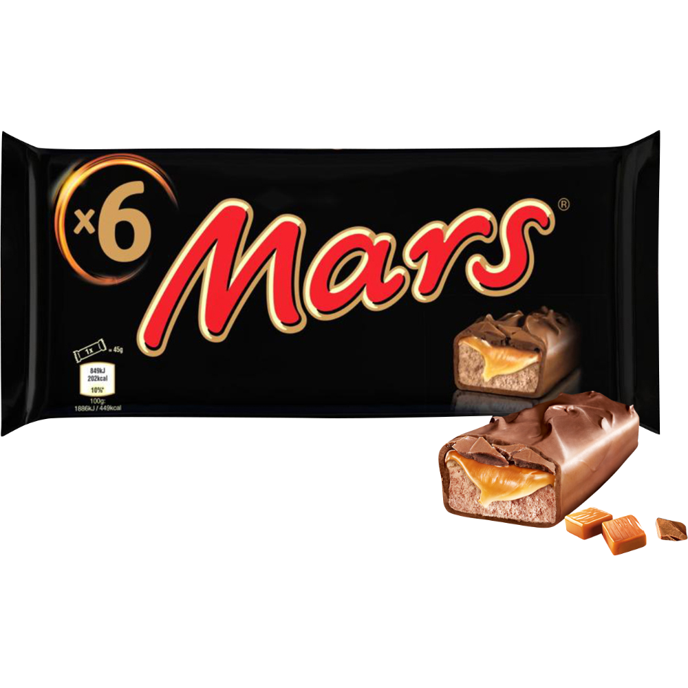 Mars (6 x 45 g)