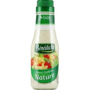 Sauce crudité nature, Bénédicta (290 g)