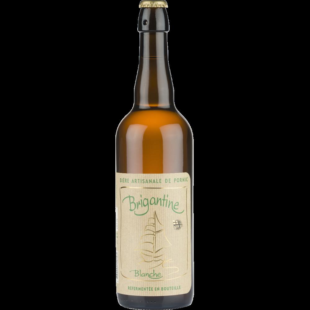 Brigantine blanche bière artisanale, 5° (75 cl)